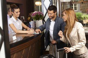 Obtén empleo de recepcionista