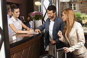 Consigue empleo de recepcionista