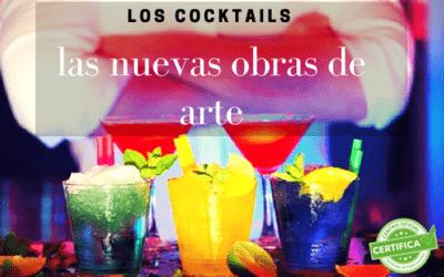 Los cocktails, las nuevas obras de arte