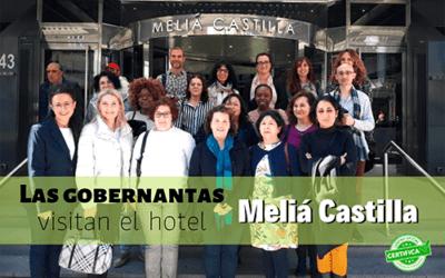 Prácticas Gobernanta | Nuestros estudiantes visitan el Meliá Castellana