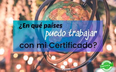 Trabaja en Europa con tu Certificado de Profesionalidad