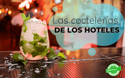 Hoteles donde disfrutar de los mejores cócteles