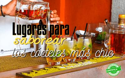 Conoce las mejores coctelerías de España