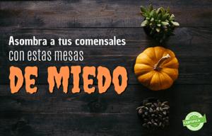 decoracion de halloween para restaurantes