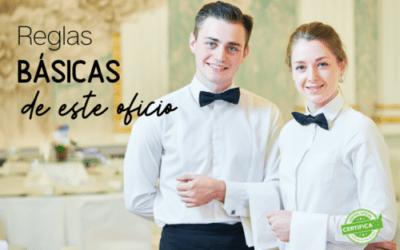Normas para ser el camarero perfecto