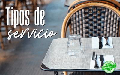 Aprende las diferentes formas de servir una mesa