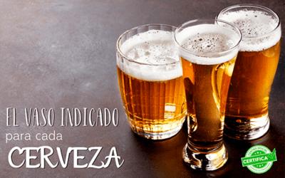 Te enseñamos en qué copa servir cada cerveza